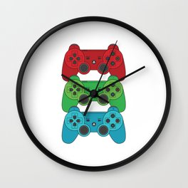 RGB Controllers Wall Clock