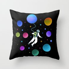 Travel The Universe Throw Pillow