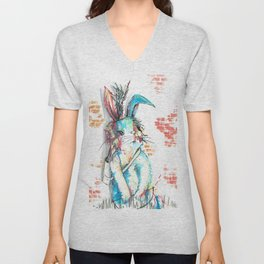 Bunny, James Bunny, 007 Unisex V-Neck