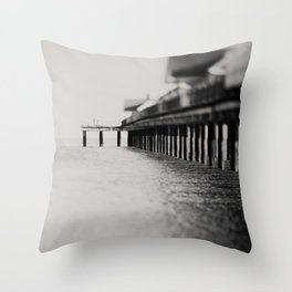 through the blur of her tears ... Throw Pillow