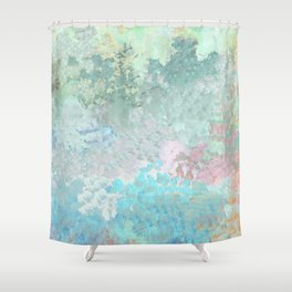 Pastel Garden Impressions Shower Curtain