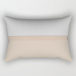 Grid 9 Rectangular Pillow