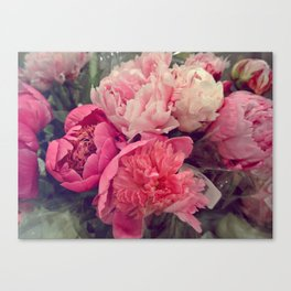 Frothy Canvas Print