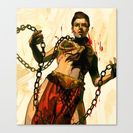 Leia the Hut Slayer Canvas Print
