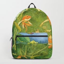 Treasures of the Lotus Nymph Backpack