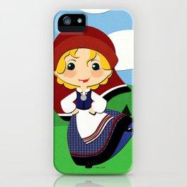Girls of the World: Estonia iPhone Case