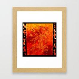 abstract Tree Framed Art Print