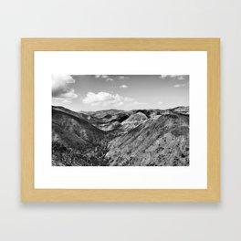 Boney Trail 3 Framed Art Print