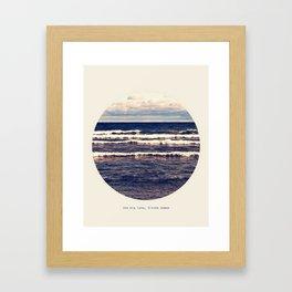 Gitche Gumee Framed Art Print