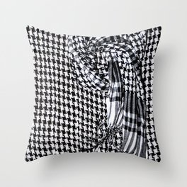 texture palestina Throw Pillow