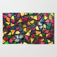 mosaic Area & Throw Rugs featuring Mosaic by Klara Acel