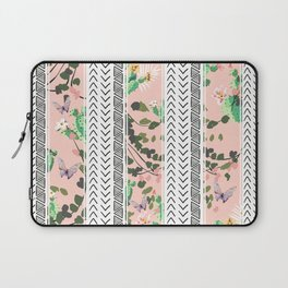 Pattern flowers and cactus Laptop Sleeve