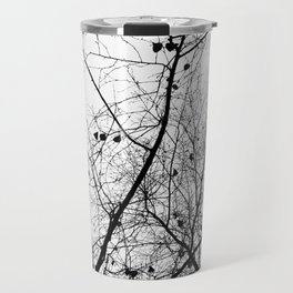 Nature in black and white Travel Mug