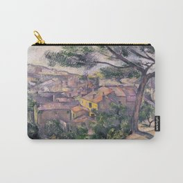 1882 - Paul Cezanne - Morning View of L'Estaque Against the Sunlight Carry-All Pouch