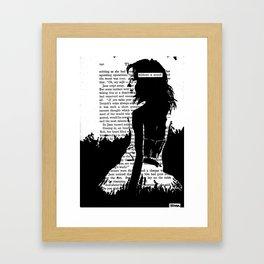 Without a Sound Framed Art Print