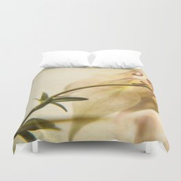 Columbine Bud Duvet Cover