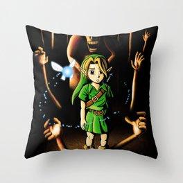 The Dead Hand Resist Him. Throw Pillow