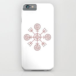 Veiðistafur - For Luck in Fishing iPhone Case