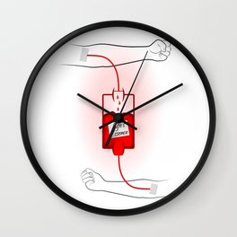 Life's Essence Wall Clock