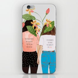 Motto #illustration #concept #painting iPhone Skin