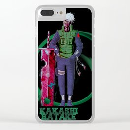 Kakashi Cool Ever Clear iPhone Case