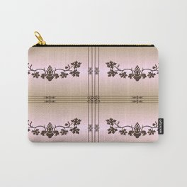 Chez Cabernet (tan woodburn) Carry-All Pouch
