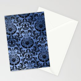 Classic Blue Swirls 14 Stationery Cards