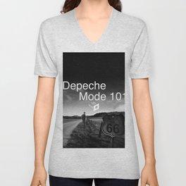 Depeche 101 Mute Promo Unisex V-Neck