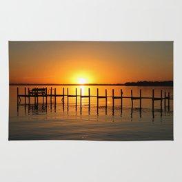 Clear Lake, Iowa Sunset Rug