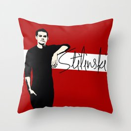 Team Human: Stilinski  Throw Pillow