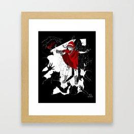 Red Riding Hood Reloaded Framed Art Print