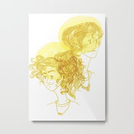 Annabeth Age Difference Metal Print