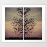 ghost veins Art Print