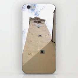 The tower bell of Cimolais (Italy) iPhone Skin
