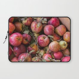 Pile of freshly picked organic farm apples with imperfections Laptop Sleeve