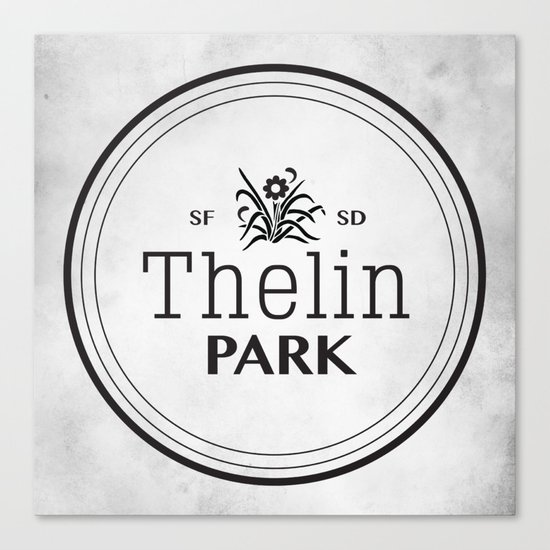 Thelin Park Canvas Print