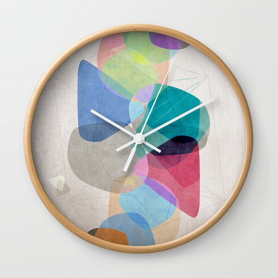 Graphic 100 Wall Clock