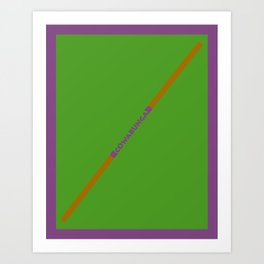 Cowabunga (Donatello Version) Art Print
