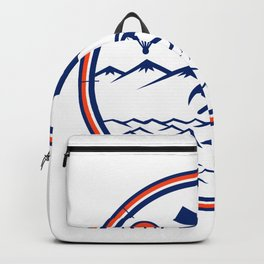 Land Sea Air Rescue Icon Backpack