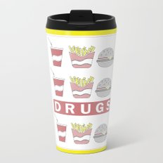 DRUGS Metal Travel Mug