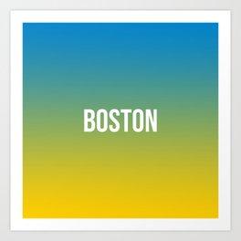 BOSTON II Art Print