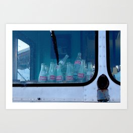 Empty Bottles Empty Dreams Art Print