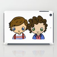 larry stylinson iPad Cases featuring What Makes Larry Beautiful by clevernessofyou