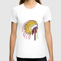 headdress T-shirts featuring Headdress by Relic X