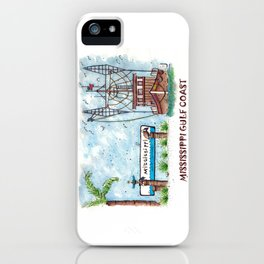 Mississippi Gulf Coast iPhone Case