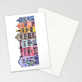 Rainbow Row – Charleston Stationery Cards