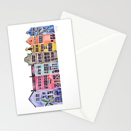Rainbow Row – Charleston Stationery Cards