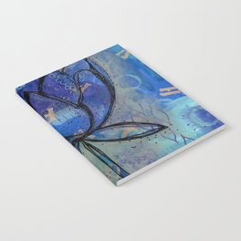 Abstract - Lotus flower - Intuitive Notebook