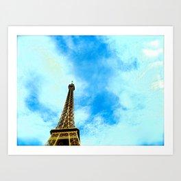 Hey Tower!  Art Print