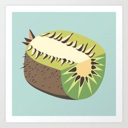 Kiwi illustration Art Print